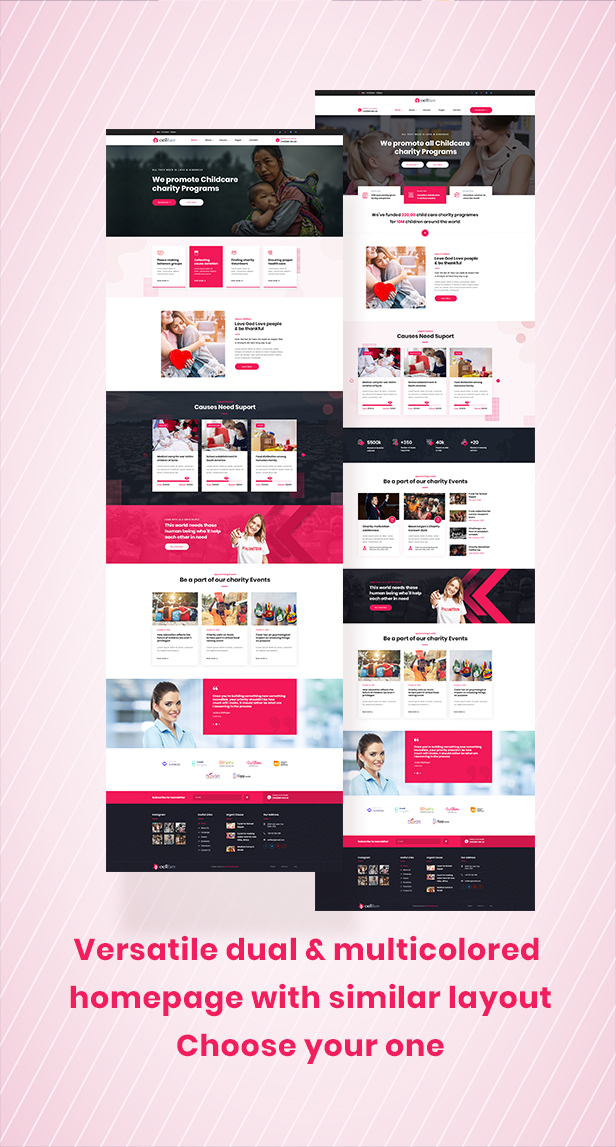 Oellfare - Charity WordPress Theme - 2