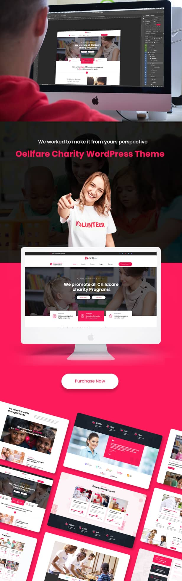 Oellfare - Charity WordPress Theme - 4